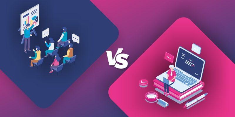 online vs classroom
